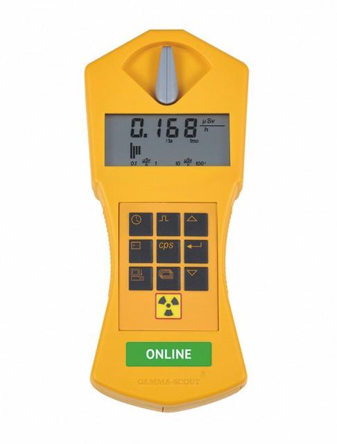 Detector de radiatii Gamma Scout Online