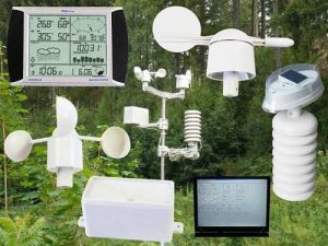 Statie meteo wireless cu touch screen