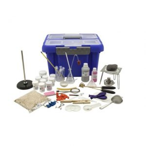 Trusa laborator chimie, sticlarie, ustensile