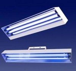 Lampa UV bactericida LBA 2x55W de perete