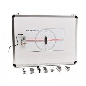 Trusa didactica experimente fizica OPTICA GEOMETRICA cu tabla magnetica