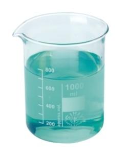 Pahar Berzelius sticla, forma joasa