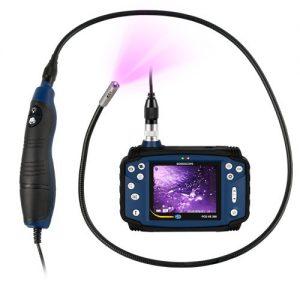 Videoendoscop cu ultraviolete